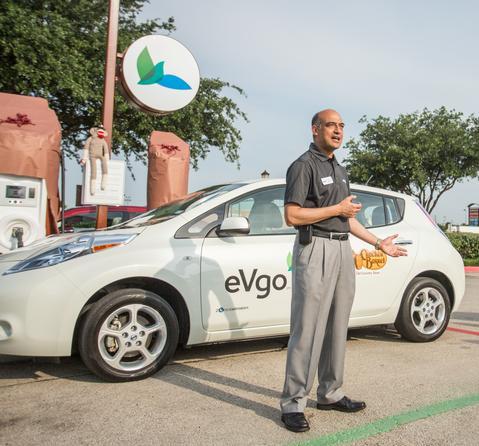 Nissan Of Burleson >> Cracker Barrel chooses NRG/eVgo EV Quick Chargers for ...