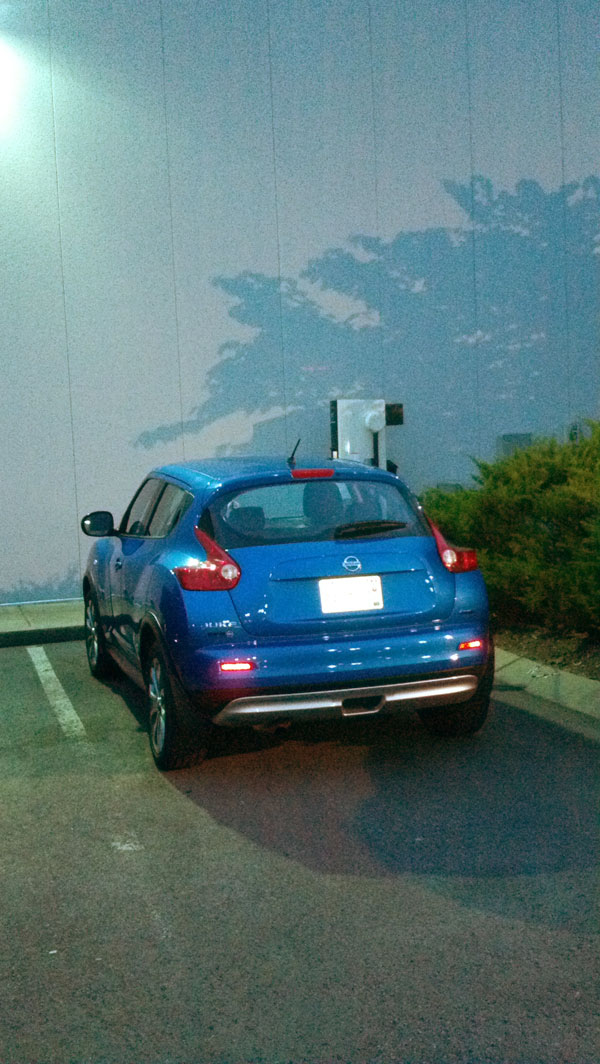 Juke ICE'd Quick Charge unit at Newton Nissan