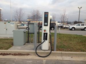 Mountain View Nissan Quick Charge Unit