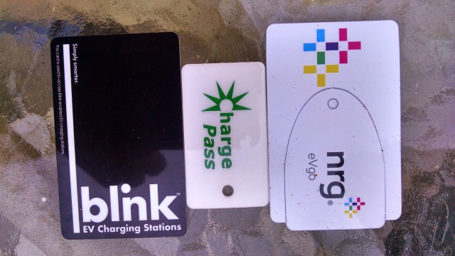 RFID Charge Card Trio