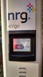 NRG eVgo station in Nashville