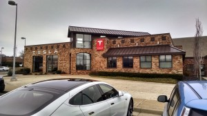 Tesla Showroom, Nashville TN