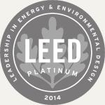 LEED 2014 Platinum Logo